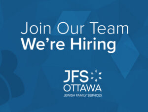 Career Opportunity with Jewish Family Services of Ottawa